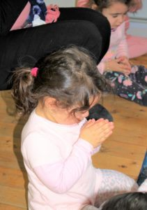 Beverly Montessori child praying